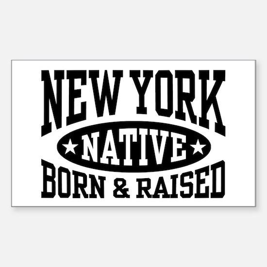 New York Native Sticker (Rectangle)