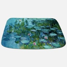 Cute Water lily Bathmat