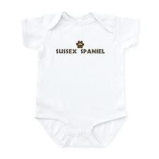 Sussex Spaniel (dog paw) Infant Bodysuit