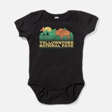 Yellowstone National Park Baby Bodysuit