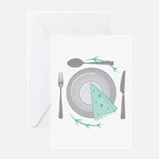 Dinner Plate Greeting Cards