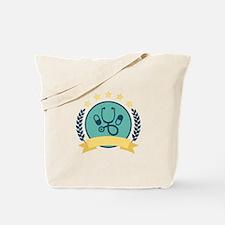 Medicine Emblem Tote Bag