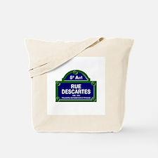 Rue Descartes, Paris - France Tote Bag