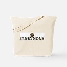 Stabyhoun (dog paw) Tote Bag
