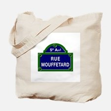 Rue Mouffetard, Paris - France Tote Bag