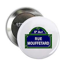 Rue Mouffetard, Paris - France Button