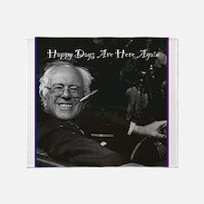 Bernie as FDR Throw Blanket