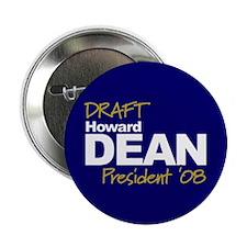 DFAFT DEAN 2008 Button