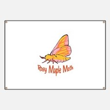 Rosy Maple Moth Banner