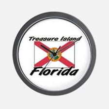 Treasure Island Florida Wall Clock