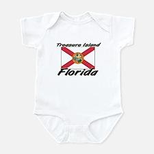 Treasure Island Florida Infant Bodysuit
