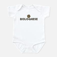 Bolognese (dog paw) Infant Bodysuit