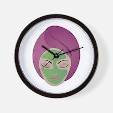 Facial Wall Clock