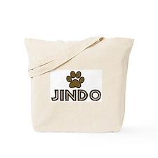 Jindo (dog paw) Tote Bag