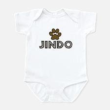 Jindo (dog paw) Infant Bodysuit