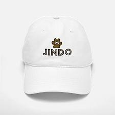 Jindo (dog paw) Baseball Baseball Cap