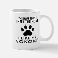I Like My Sokoke Cat Mug