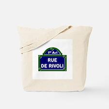 Rue de Rivoli, Paris - France Tote Bag