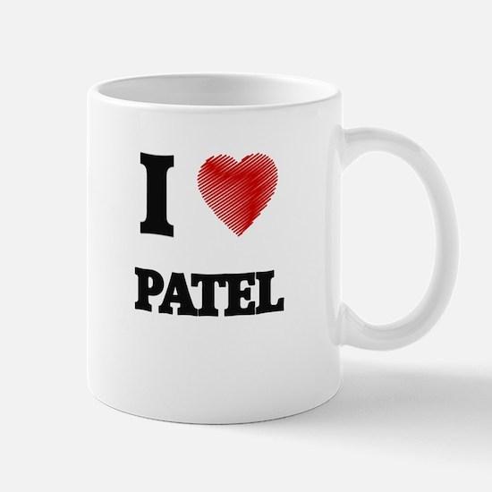 I Love Patel Mugs