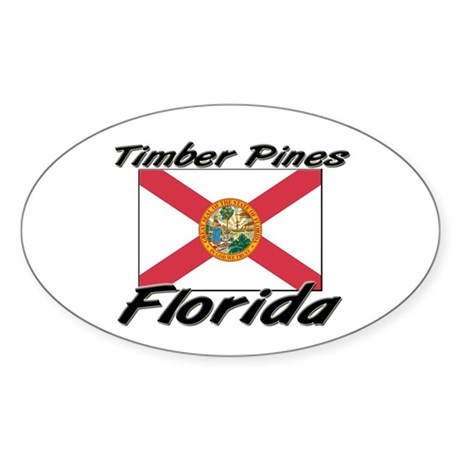 Timber Pines Florida Oval Sticker