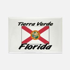Tierra Verde Florida Rectangle Magnet