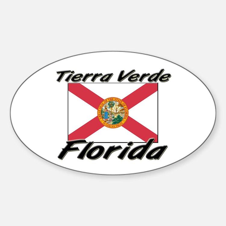 Tierra Verde Florida Oval Decal