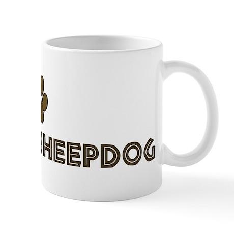 Iceland Sheepdog (dog paw) Mug