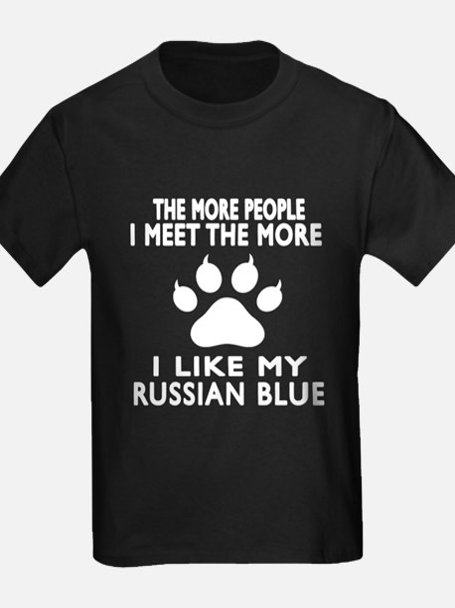 I Like My Russian Blue Cat T