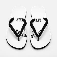 Civil engineer Designs Flip Flops