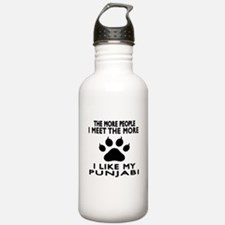 I Like My Punjabi Cat Water Bottle