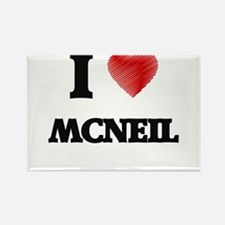 I Love Mcneil Magnets