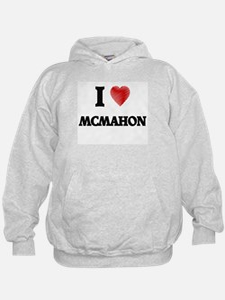 I Love Mcmahon Hoodie