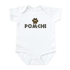 Pomchi (dog paw) Infant Bodysuit