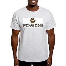 Pomchi (dog paw) T-Shirt