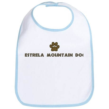 Estrela Mountain Dog (dog paw Bib