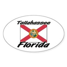 Tallahassee Florida Oval Decal
