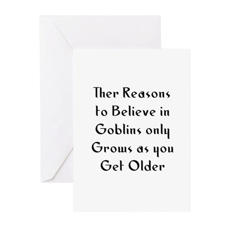 Ther Reasons to Believe in Go Greeting Cards (Pk o