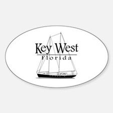 Key West Sailing Decal