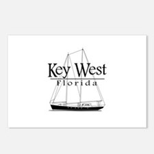 Key West Sailing Postcards (Package of 8)