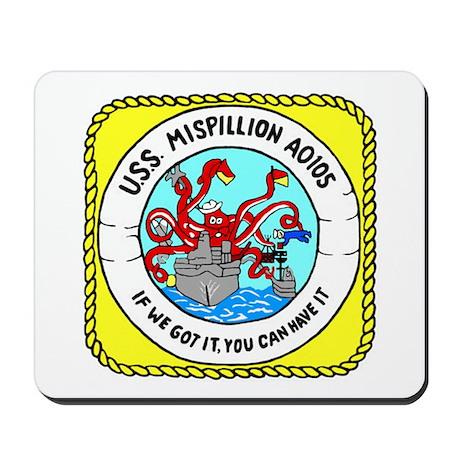 USS Mispillion (AO 105) Mousepad