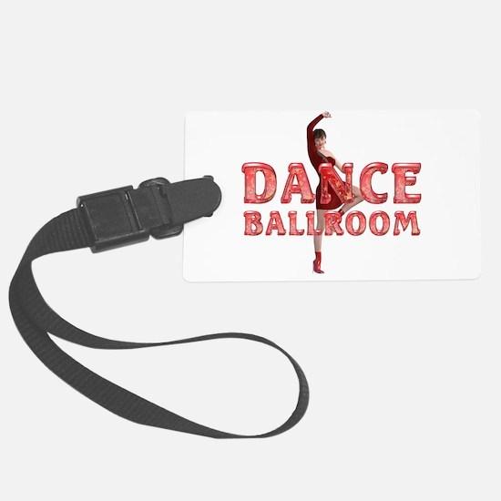 Dance Ballroom Luggage Tag