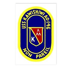 USS Kawishiwi (AO 146) Postcards (Package of 8)
