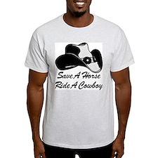 Save Horse Ride Cowboy T-Shirt
