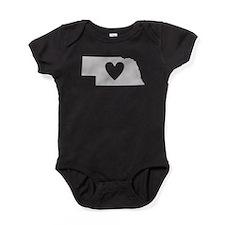 Cute Omaha Baby Bodysuit