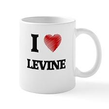 I Love Levine Mugs