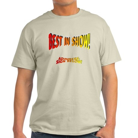 Best in Show Light T-Shirt
