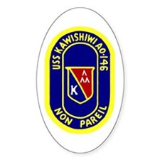 USS Kawishiwi (AO 146) Oval Decal