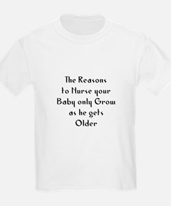 The Reasons to Nurse your Bab T-Shirt