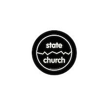 Separate Church and State Mini Button