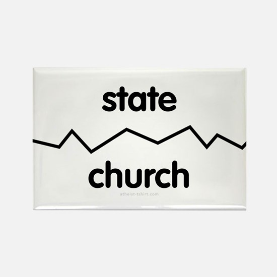 Separate Church and State Rectangle Magnet (10 pac